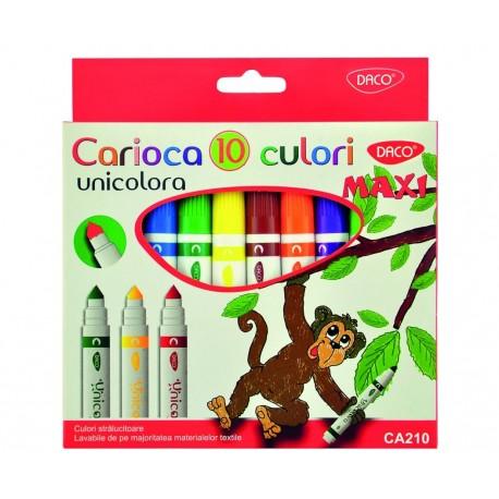 Carioca 10C varf conic unicolora MAXI DACO CA210