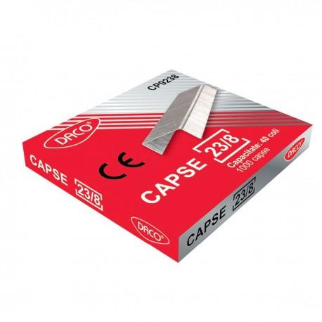 Capse 23/8 DACO 1000 bucati/cutie