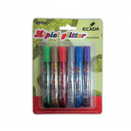 Lipici glitter set 6 ECADA