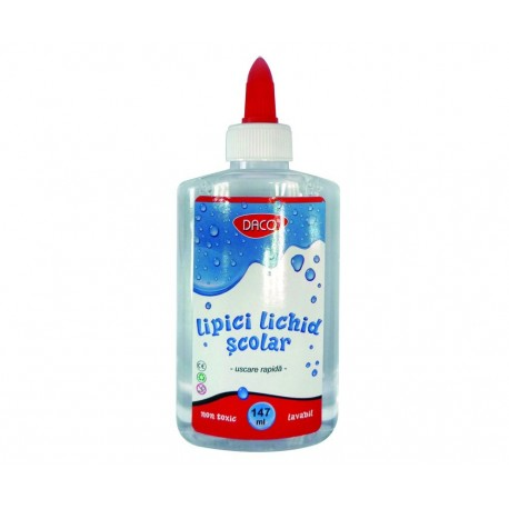 Lipici lichid scolar 147 ml DACO