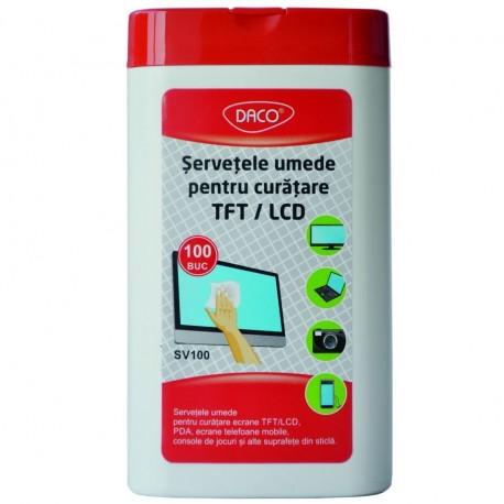 Servetele pentru curatare ecran TFT/LCD DACO
