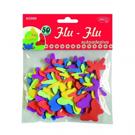 Accesorii craft - AD009  insecte autoadezive flu-flu DACO