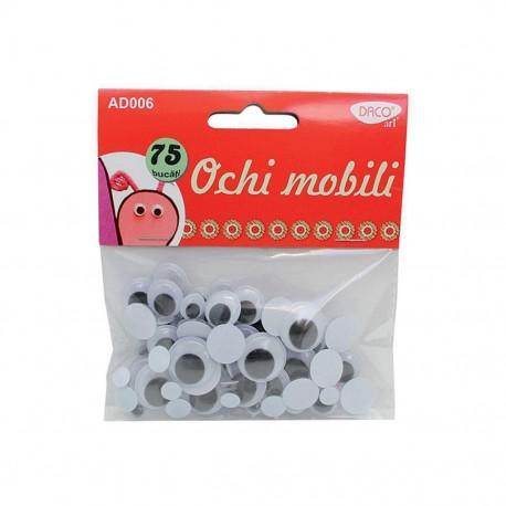 Accesorii craft - AD006  ochi mobili DACO