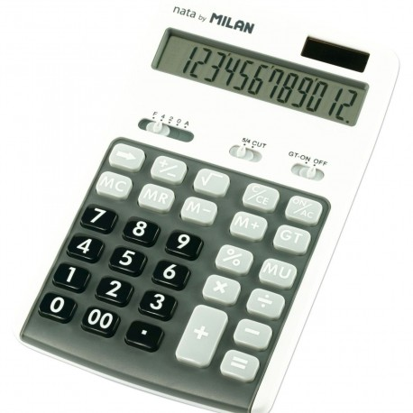 Calculator 12 DG MILAN 150712GBL gri
