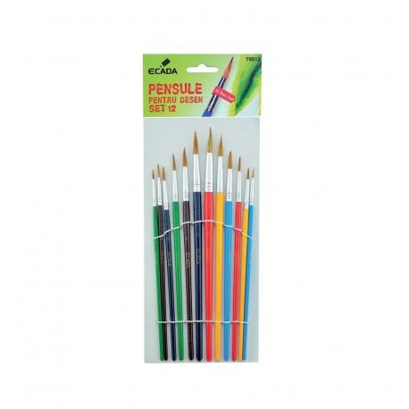 Pensula set 12 ECADA
