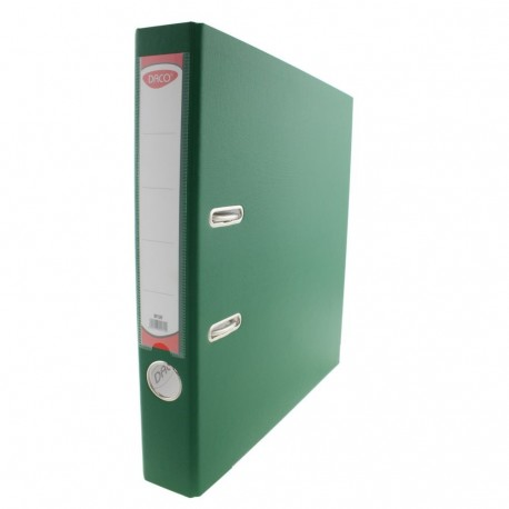 Biblioraft plastifiat 50 mm DACO verde