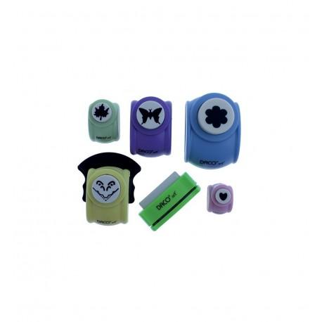 Perforator Hobby set 6 diverse DACO