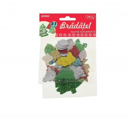 Accesorii craft - AD042  bradatel spuma autoadeziva