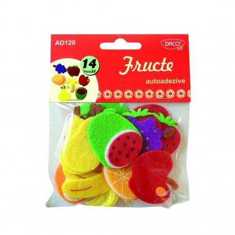 Accesorii craft - AD120 fructe pasla autoadeziva DACO