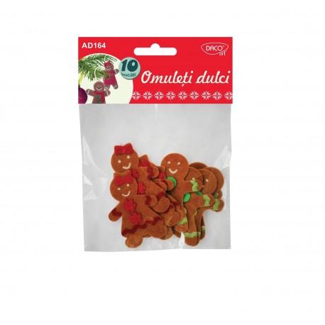 Accesorii craft - AD164 omuleti dulci fetru  DACO