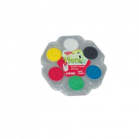 Acuarele 6 culori Hora DACO AR060