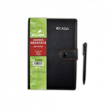 Agenda cu pix 14x21cm ECADA 13101